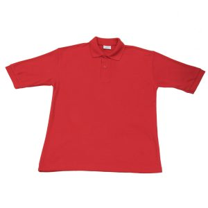 Kingsdale Red Polo Top